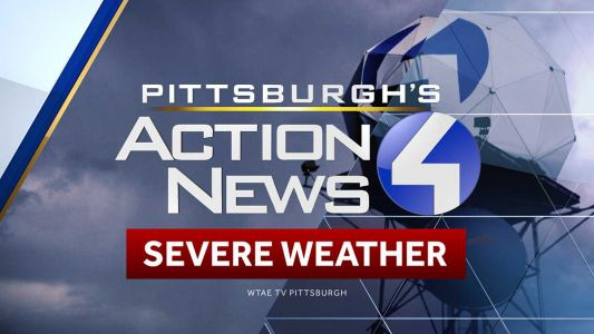 Tornado warning issued for several western Pennsylvania counties