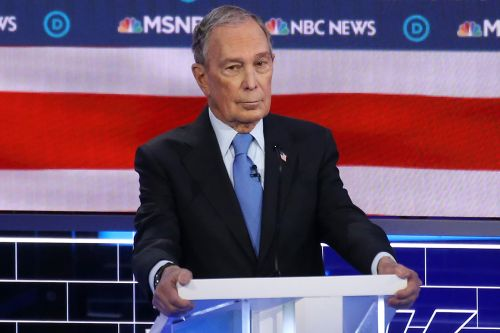 Bloomberg bombs in debate debut