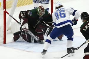 Keller, Garland each score 2, power Coyotes past Lightning