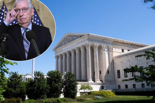 Mitch McConnell blasts 'fake news' for ignoring Supreme Court packing