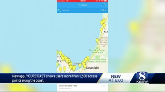 Coastal Commission unveils new app for finding hidden beach access