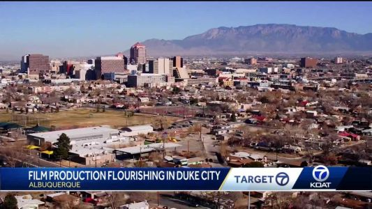 Albuquerque a mini Hollywood? Film productions soar in Duke City