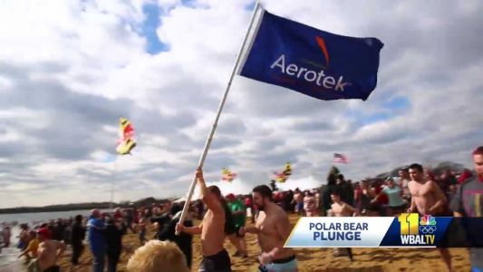 Aerotek shares special bond with Special Olympics for Polar Bear Plunge