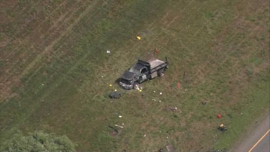 Victim flown to hospital after crash on Interstate 495 in Bolton