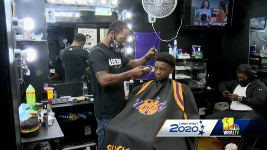 Baltimore barber offers discounts to people who register to vote