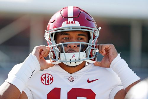 Alabama's Tua Tagovailoa taking first step in long recovery