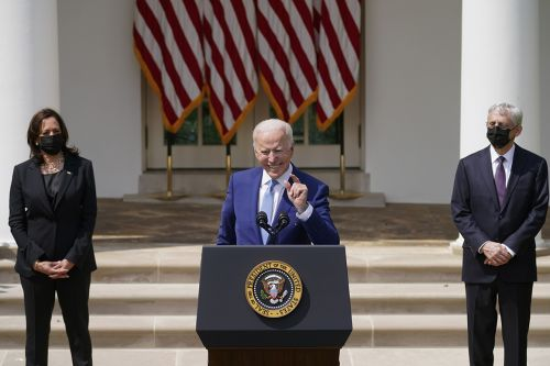 Biden says gun violence is an epidemic, unveils executive actions and calls for national red flag law