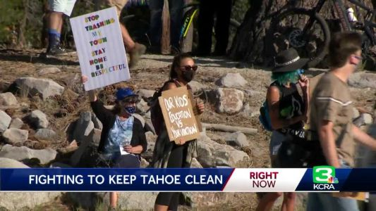 Tahoe rallies remind tourists to clean up after themselves