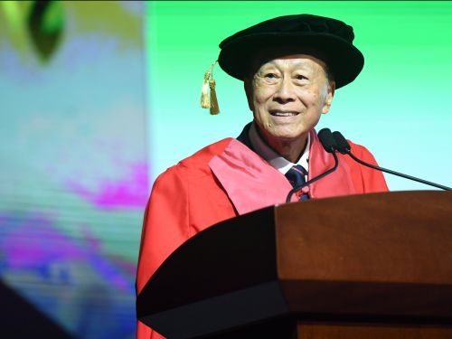 The richest man in Hong Kong just pledged to cover 5 years of tuition for an entire college class, and it's going to cost him $14.4 million a year to do it