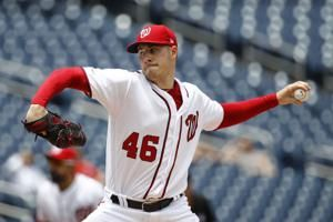 Bruised ace Scherzer leads Nationals to sweep of Phillies