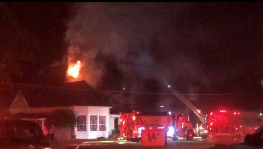 Firefighters battle Greenwood County church fire, dispatch says