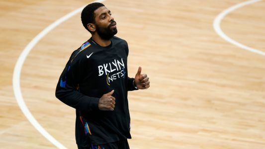 Kyrie Irving injury update: Nets star ruled out after taking elbow to face vs. Bulls