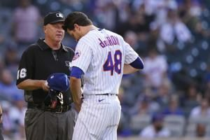 Searching for sticky stuff: MLB umps start checking pitchers