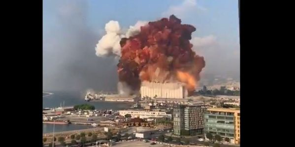 Shocking videos capture massive explosion that just rocked the Lebanese capital of Beirut