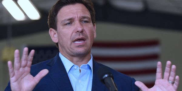 Gov. Ron DeSantis said he will pardon anybody in Florida convicted of breaking masking or social distancing rules
