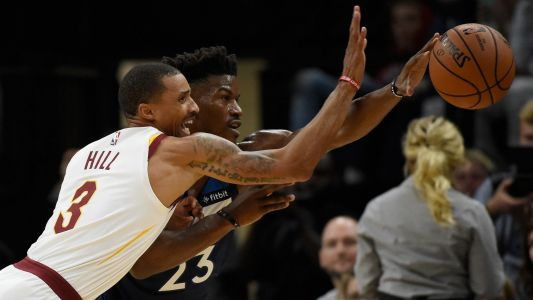 NBA wrap: Jimmy Butler turns boos to MVP chants in Timberwolves' first win
