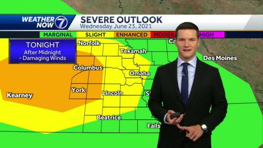 Hot, humid Wednesday, storms possible late tonight