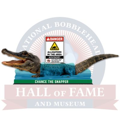 'Chance the Snapper' bobblehead unveiled by National Bobblehead Hall of Fame