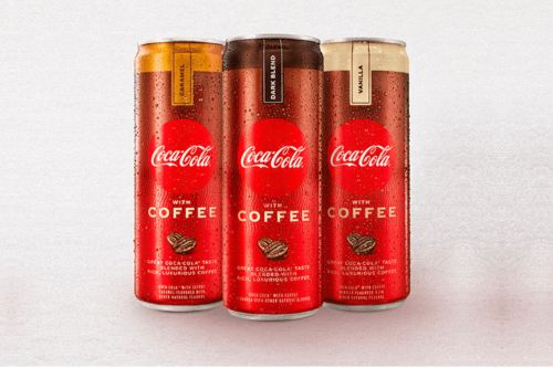 Coca-Cola launches coffee in a can in the US