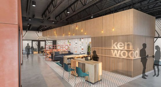 New shared coworking, social space with golf simulator, dining options coming to Kenwood