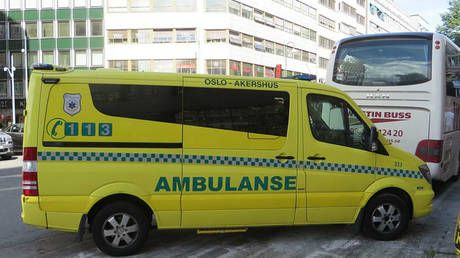 Several people hit by stolen ambulance in Oslo, police apprehend armed perpetrator