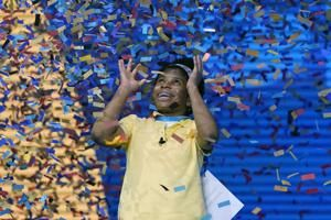 African American spelling bee champ makes history with flair