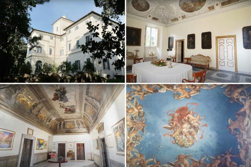 'World's most expensive home' with only Caravaggio mural on sale for $547M