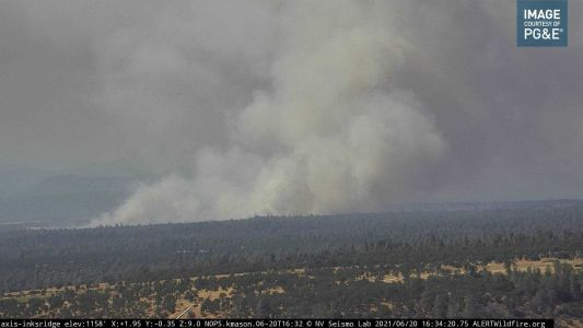 Residents evacuated due to wildfire burning in Shasta County