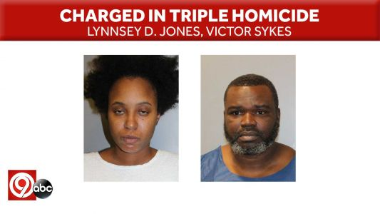 Man, woman charged in triple homicide Thursday in east KC
