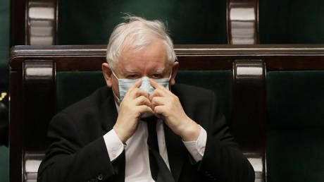 Poland's Deputy PM Kaczynski quarantined after contact with coronavirus-infected person