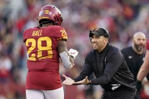 Purdy, No. 22 Iowa State look for 4th straight win over WVU