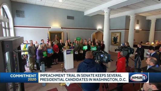 Impeachment trial takes senators off campaign trail