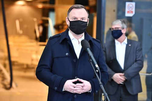 Polish President Andrzej Duda tests positive for COVID-19 but shows no symptoms