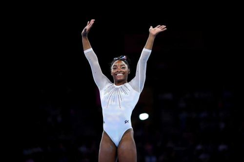 Simone Biles sets record for most medals by any gymnast at world championships