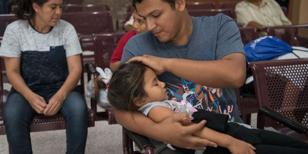 Border Patrol has never vaccinated the migrant children it apprehends. Doctors say it's time for that to change