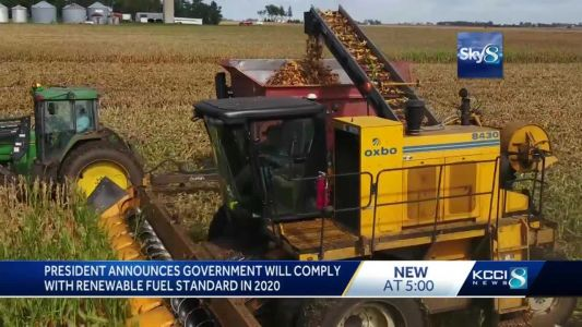 Farmers blame Trump for biofuels rule they view as betrayal