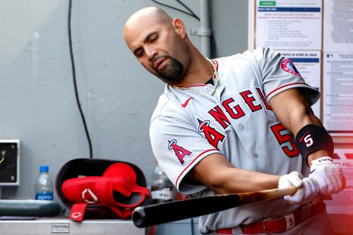 Angels release 'upset' Albert Pujols after dreadful start to season