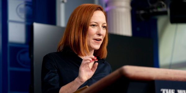 Psaki says Biden 'does not spend his time tweeting conspiracy theories' after a GOP senator criticized his tweets as 'unimaginably conventional'
