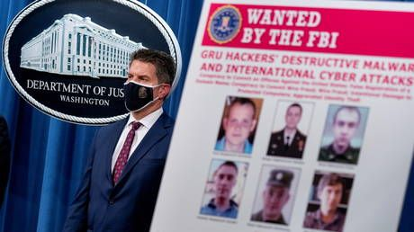 US charges six Russian 'intelligence agents' with hacking Ukraine, Georgia, France and 2018 Olympics