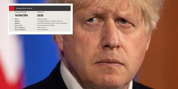 Hostile states could use debt orders, like the one received by Boris Johnson, to destroy reputations, says former spy