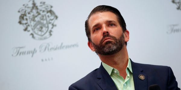 Donald Trump Jr's new book may only be the No. 1 New York Times bestseller because of bulk orders linked to the Republican Party