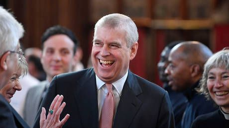 'Is this a joke?' Times claim that MI6 fears Russia has 'kompromat' on Prince Andrew over Epstein draws laughs