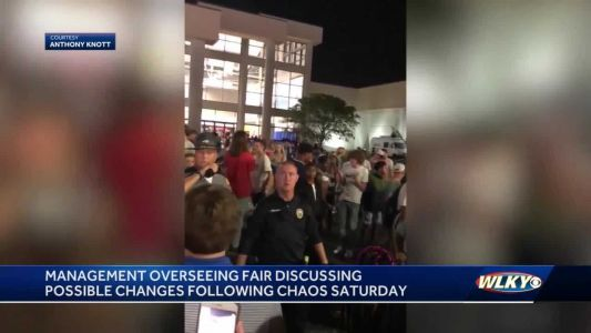 Kentucky State Fair officials discussing possible changes in response to chaos