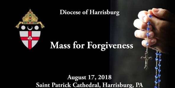Church holds 'Mass for Forgiveness' in Harrisburg
