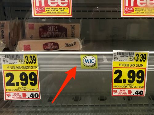 Foods like peanut butter, cheese, and eggs might have a 'WIC' label in your grocery store. Here's what it means and why you should avoid buying those items if you can