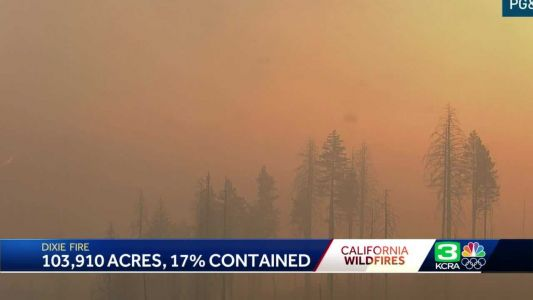 Dixie Fire: More NorCal residents evacuate as wildfire grows