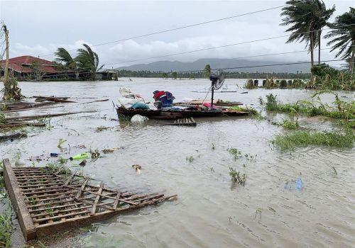 Typhoon Molave displaces thousands, floods villages in Philippines
