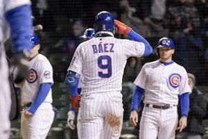 Báez hits slam, Cubs get boost from Mets errors in 16-4 romp