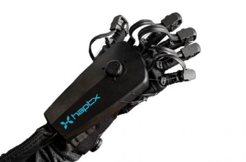 Haptx debuts new version of touch-feedback gloves