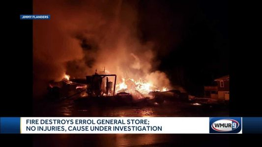 Errol General Store destroyed in overnight fire